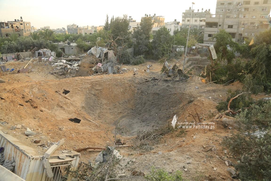 منازل المدمرة إثر القصف (20).JPG