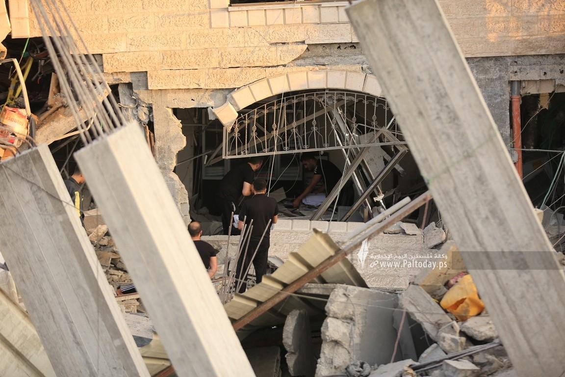 منازل المدمرة إثر القصف (19).JPG