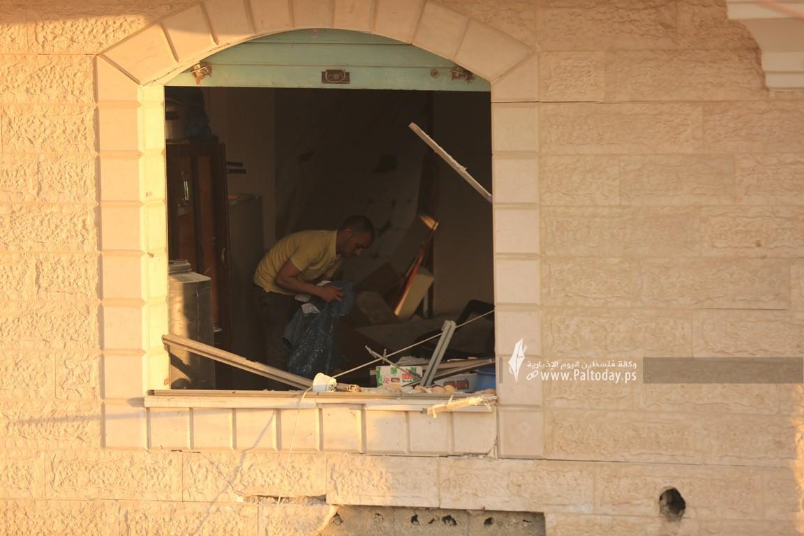 منازل المدمرة إثر القصف (25).JPG