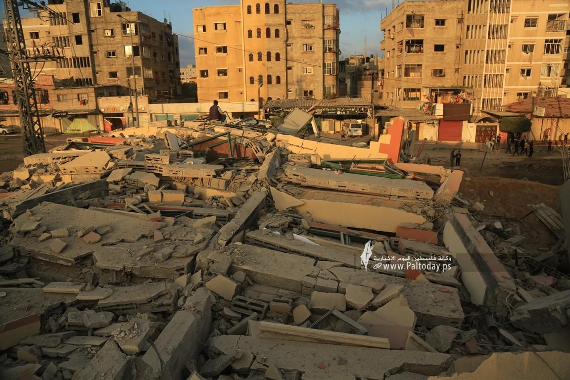 منازل المدمرة إثر القصف (23).JPG
