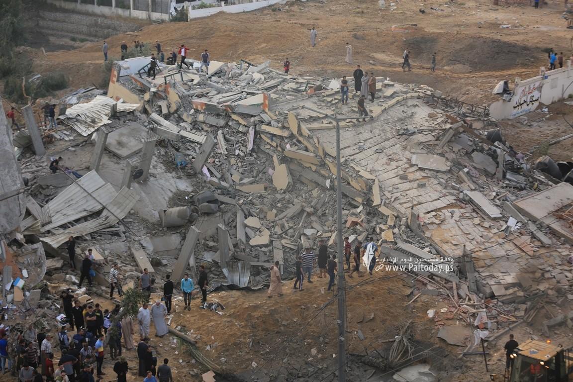 منازل المدمرة إثر القصف (31).JPG