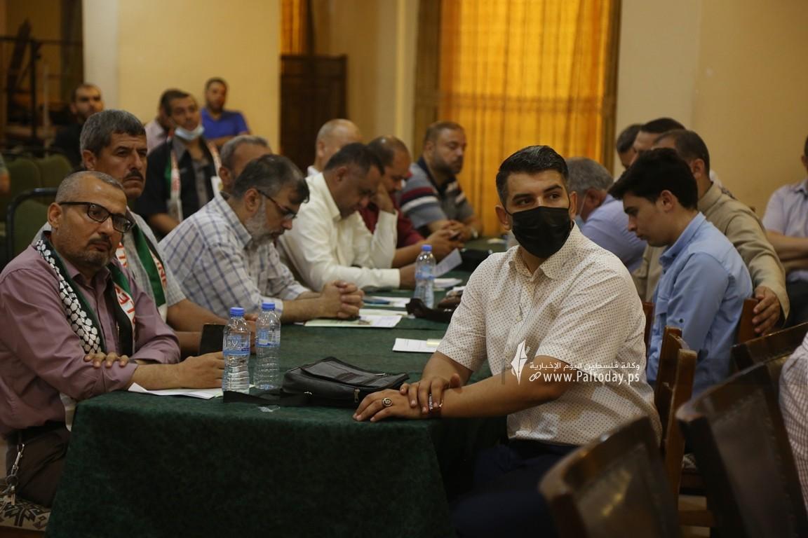 فلسطين للدراسات ينظم لقاء ثقافي بعنوان مستقبل فلسطين بين نهج المقاومة ونهج المساومة (19).JPG