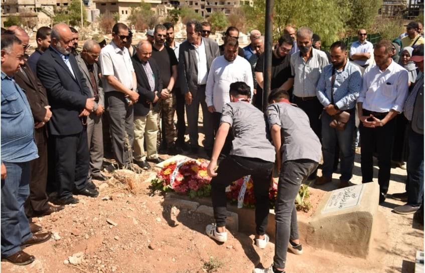 الفصائل في دمشق تحيي ذكرى الشاهد الأمين (2).jpg