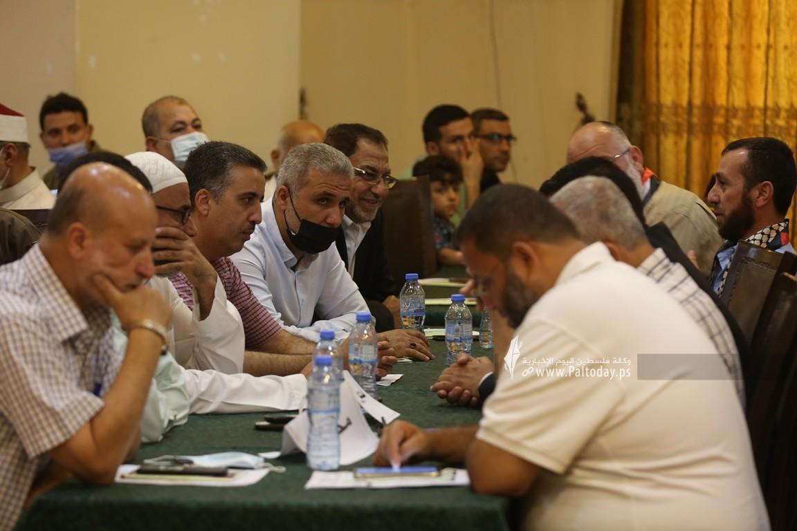 فلسطين للدراسات ينظم لقاء ثقافي بعنوان مستقبل فلسطين بين نهج المقاومة ونهج المساومة (17).JPG