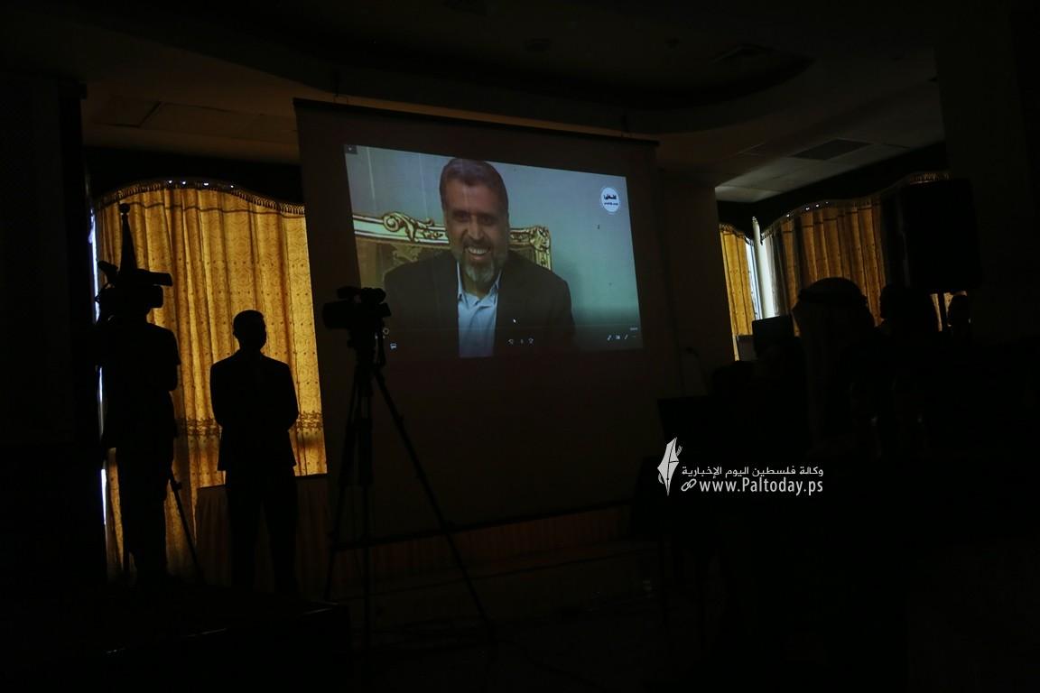 فلسطين للدراسات ينظم لقاء ثقافي بعنوان مستقبل فلسطين بين نهج المقاومة ونهج المساومة (22).JPG