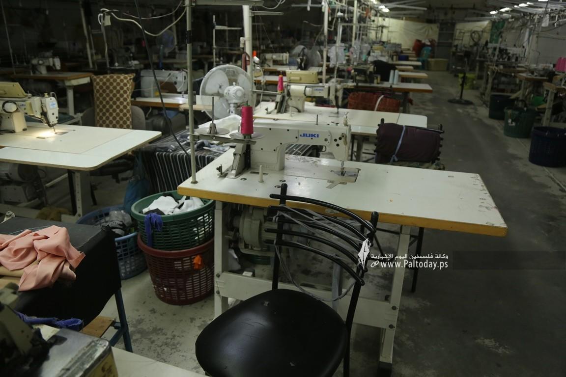 مصنع للخياطة في غزة  (6).JPG