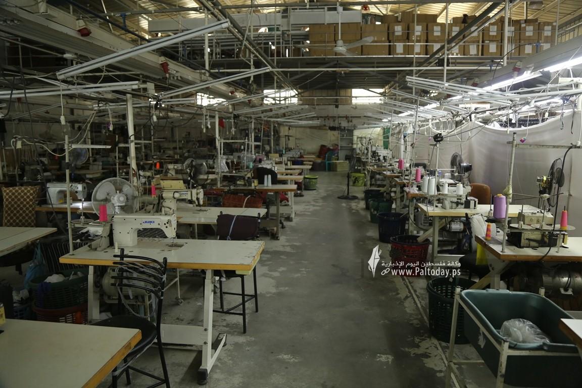 مصنع للخياطة في غزة  (2).JPG