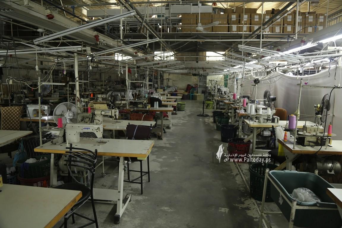 مصنع للخياطة في غزة  (1).JPG