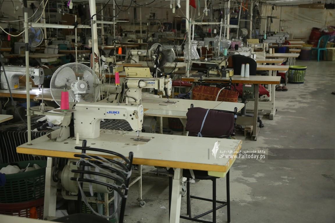 مصنع للخياطة في غزة  (3).JPG