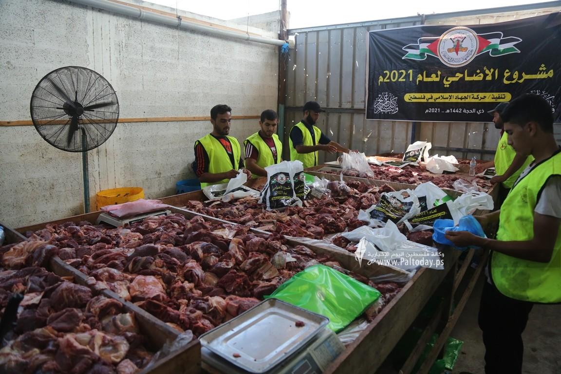 الجهاد الاسلامي تنفذ مشروع الاضاحي لعام ٢٠٢١ (16).JPG