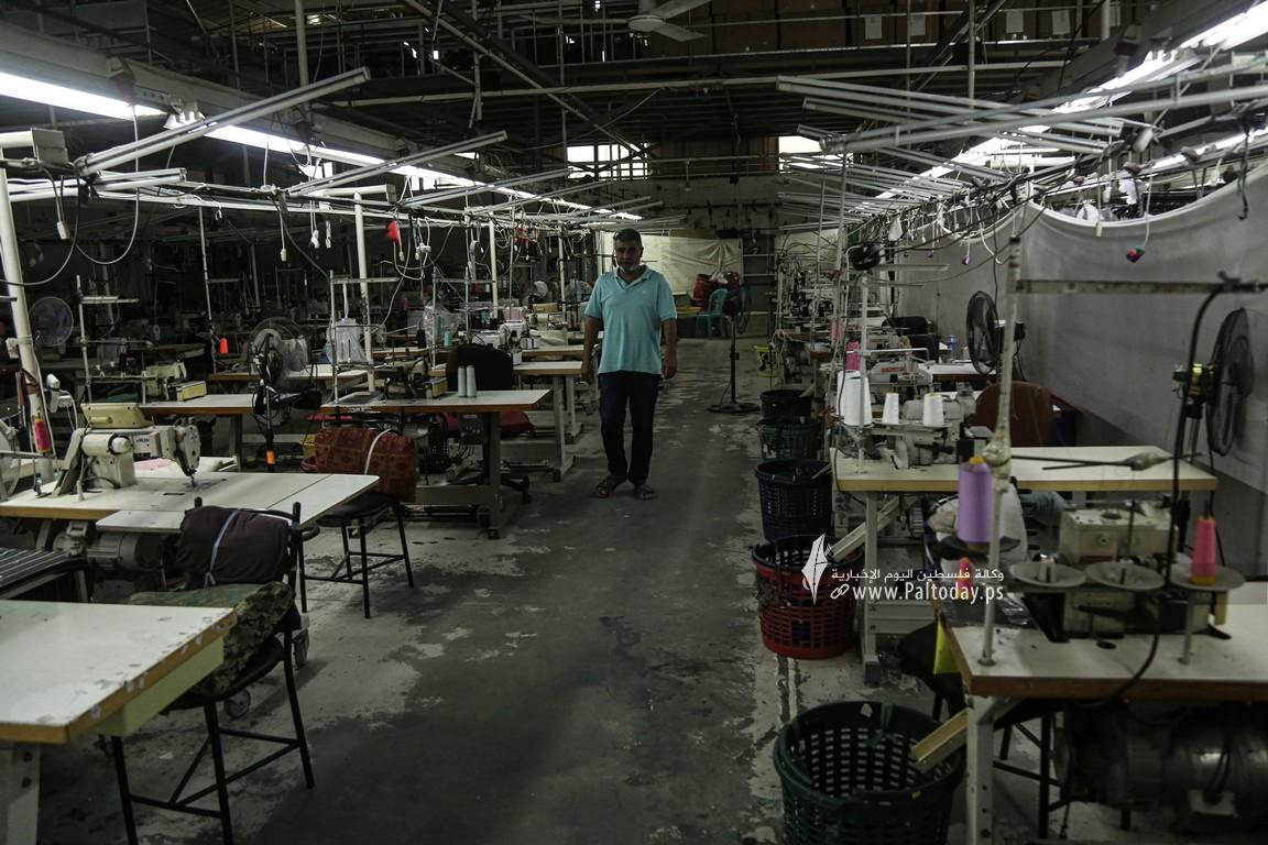 مصنع للخياطة في غزة  (5).JPG