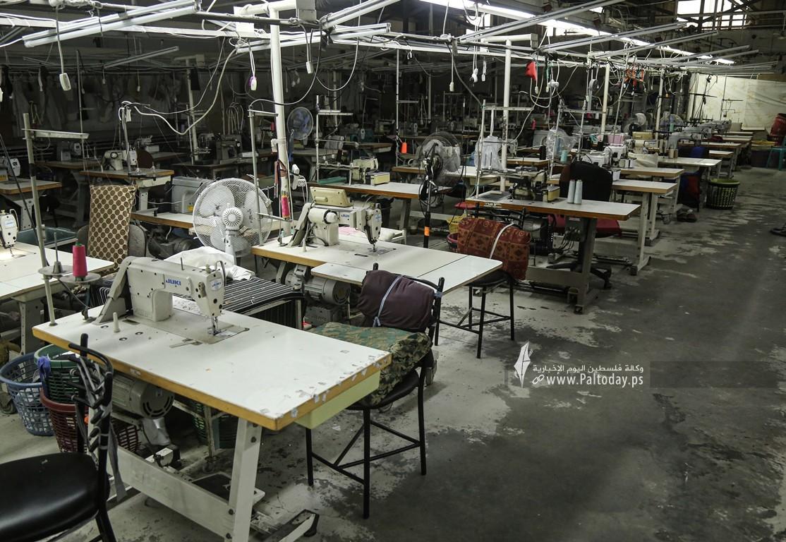 مصنع للخياطة في غزة  (7).JPG