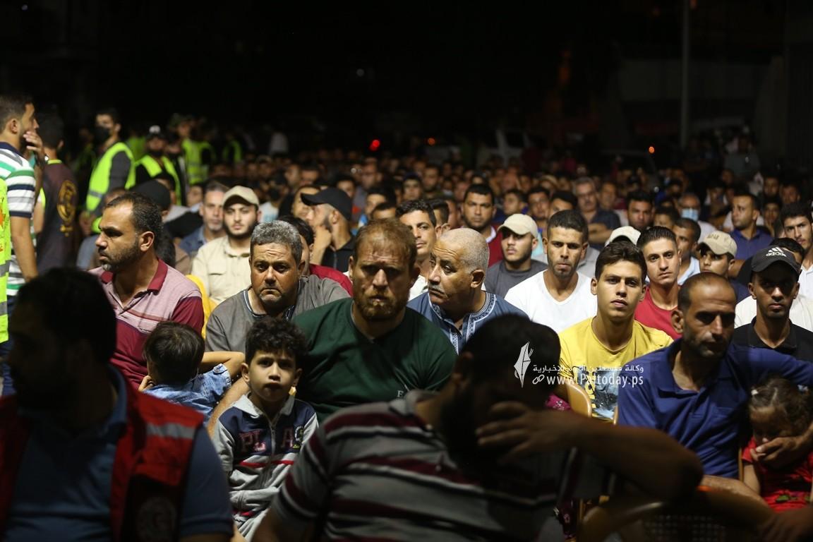 تابين شهداء الاعداد بحى الشجاعية سرايا القدس (28).JPG