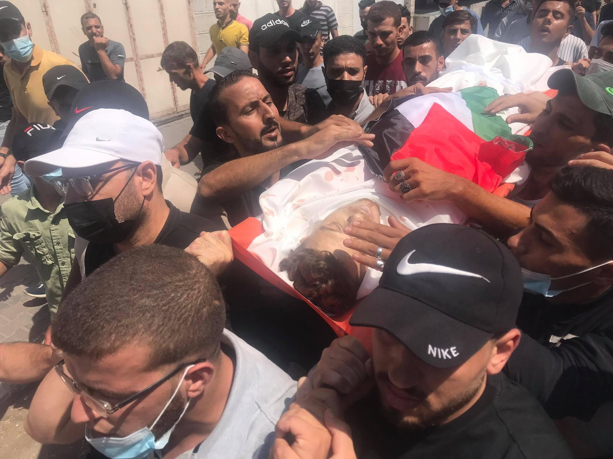 الشهيد أحمد صالح شمال قطاع غزة.jpg