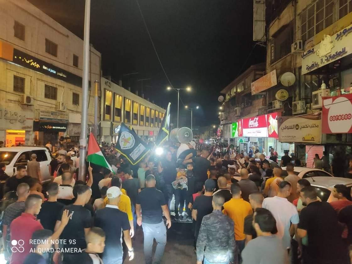 مسيرة في الخليل تضامنا مع الاسرى.jpg