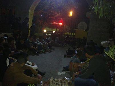 اعتصام جامعة ابو ديس