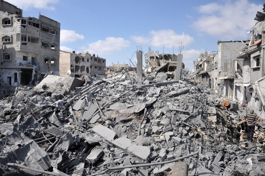قصف الإحتلال على حي الشجاعية