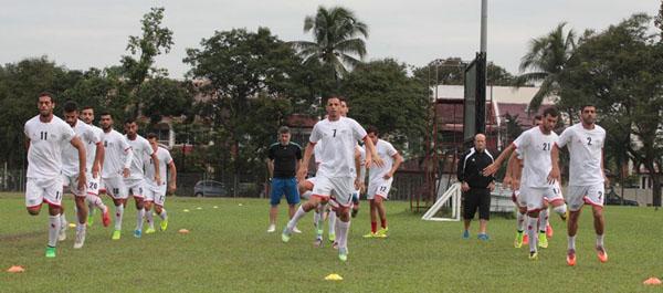 تدريبات المنتخب الوطني (9)