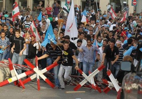 مواجهات لبنان