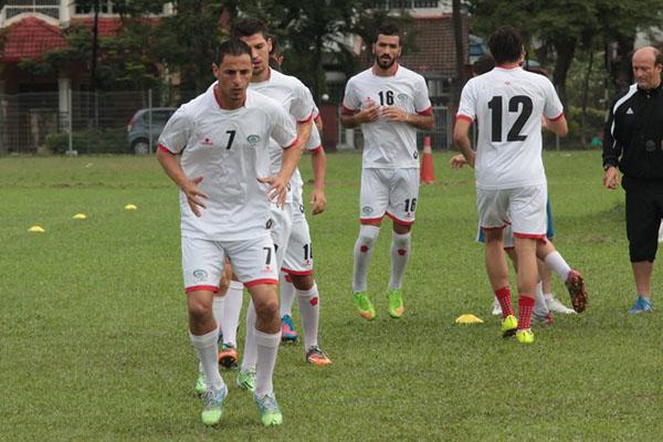 تدريبات المنتخب الوطني (7)