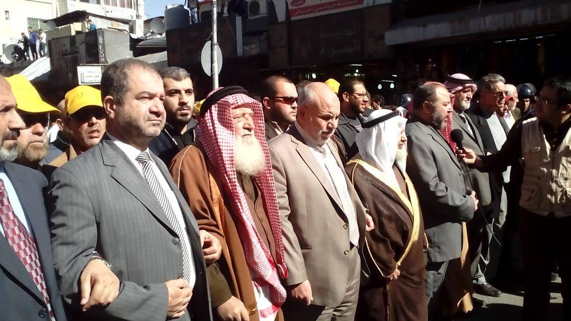 مسيرة بالأردن نصرة للأقصى