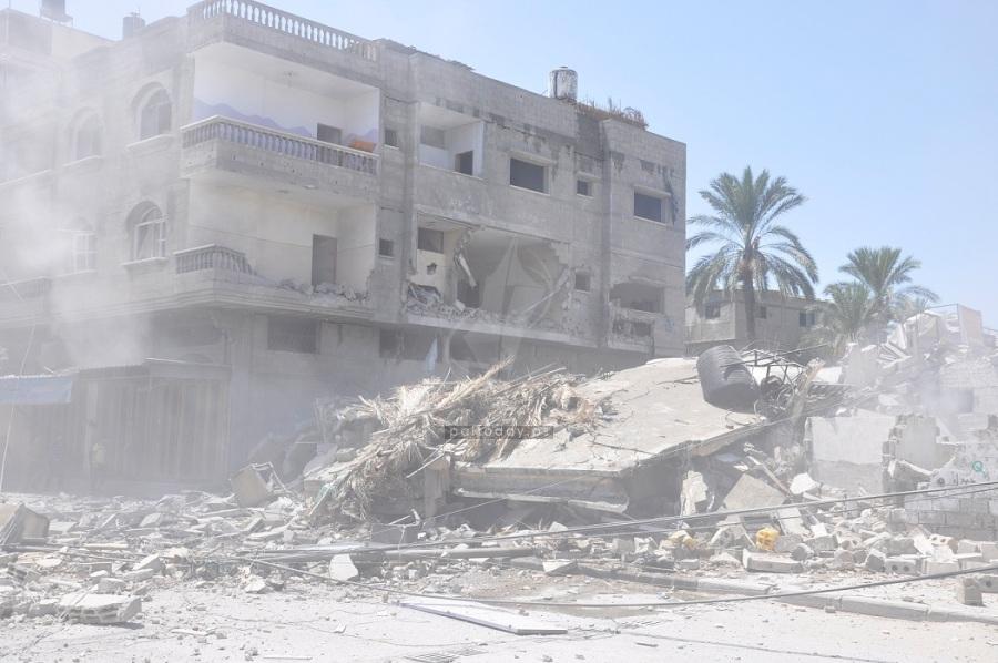 قصف منازل 2014