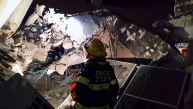 انفجار انبوبة غاز في المستوطنين