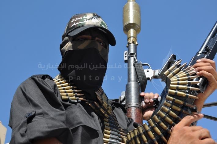 العرض العسكري لكتائب القسام المقاومة 33ecc4f301fcebfc3196