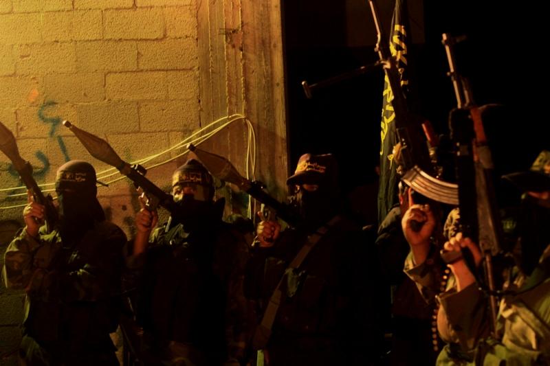 صور تأبين لسرايا القدس