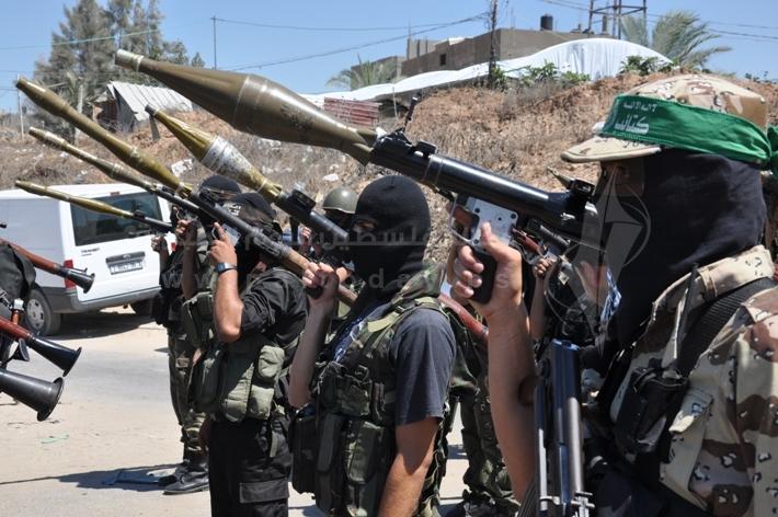 العرض العسكري لكتائب القسام المقاومة 3733e2e2e879d365bf14