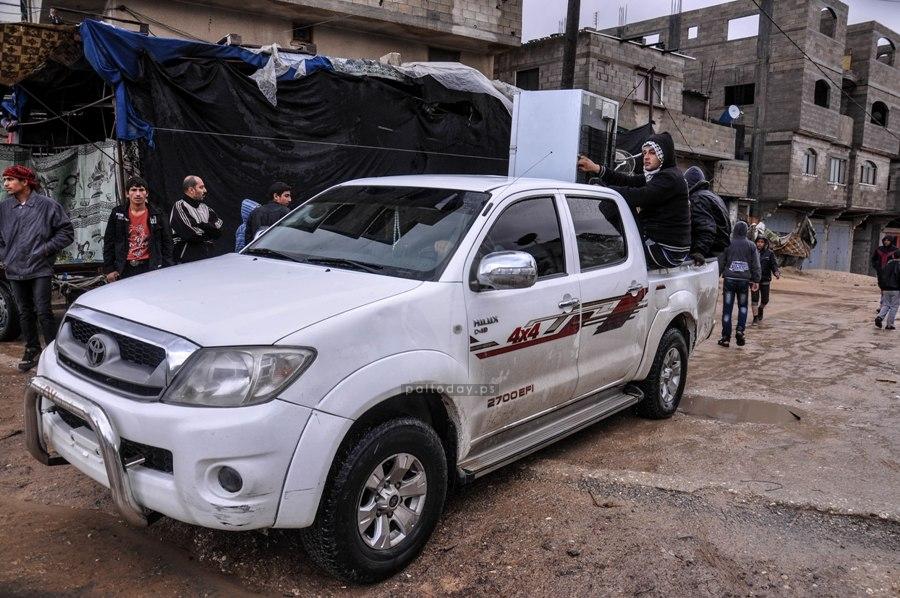 غرق شارع النفق وسرايا القدس تستنفر عناصرها