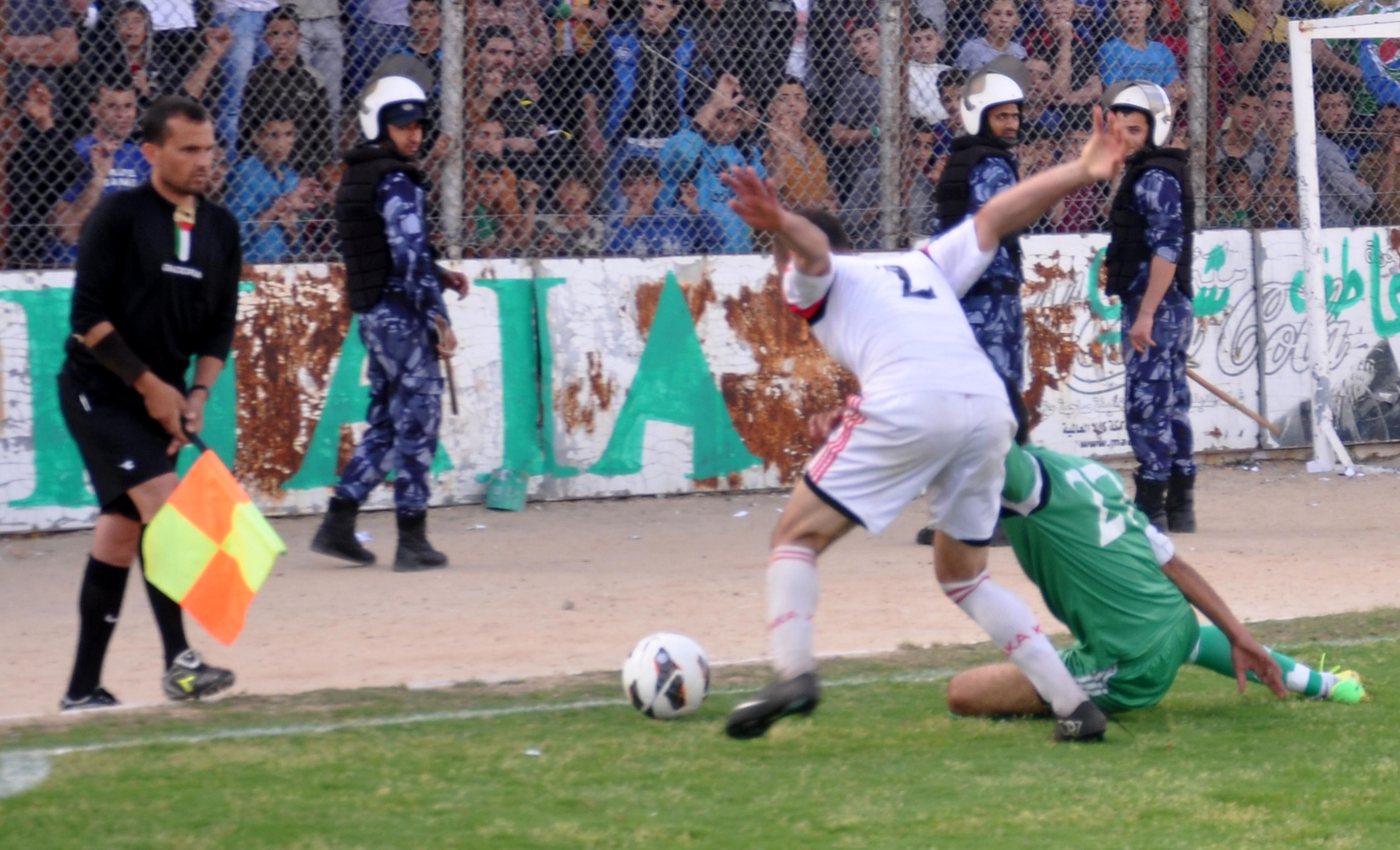 اتحاد الشجاعية وغزة الرياضي (18)