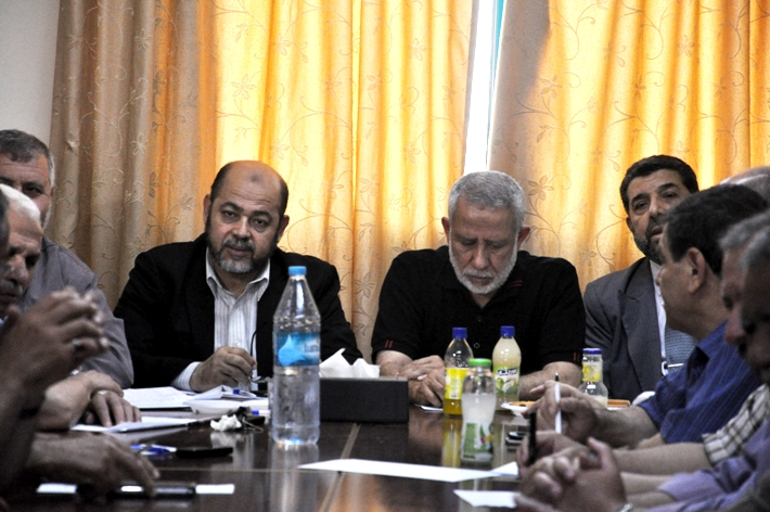 اجتماع الفصائل بغزة