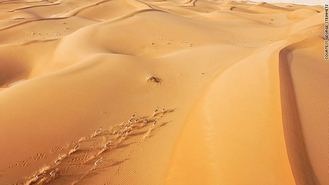 الصحراء من السماء