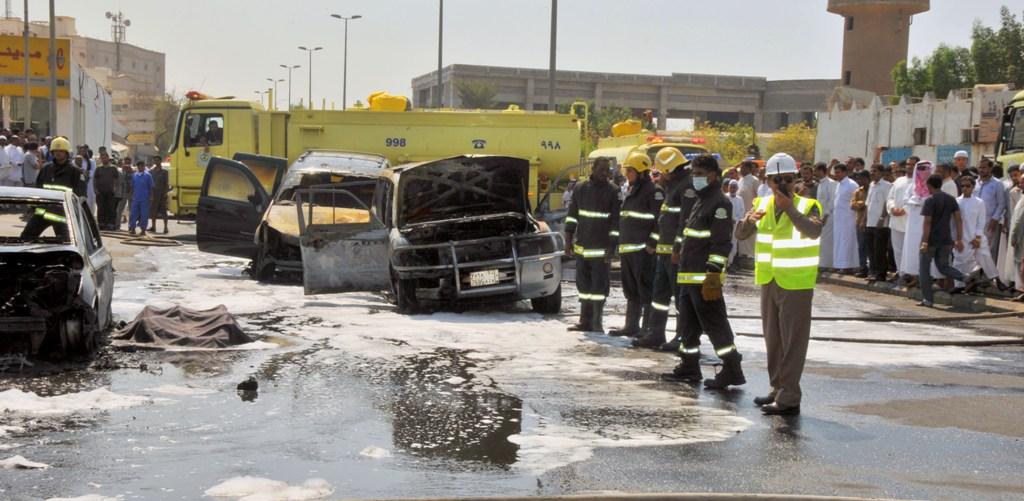 حريق سيارات