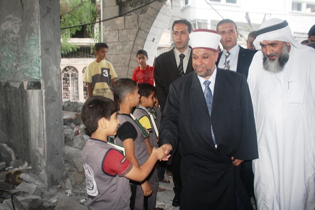 وزير الأوقاف يتفقد مسجد السوسي
