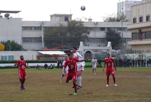 دوري جوال غزة الرياضي وشباب خانيونس (2)