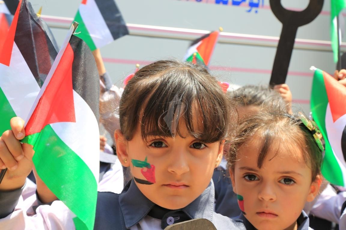 مسيرة للأطفال فى ذكرى النكبة (1)