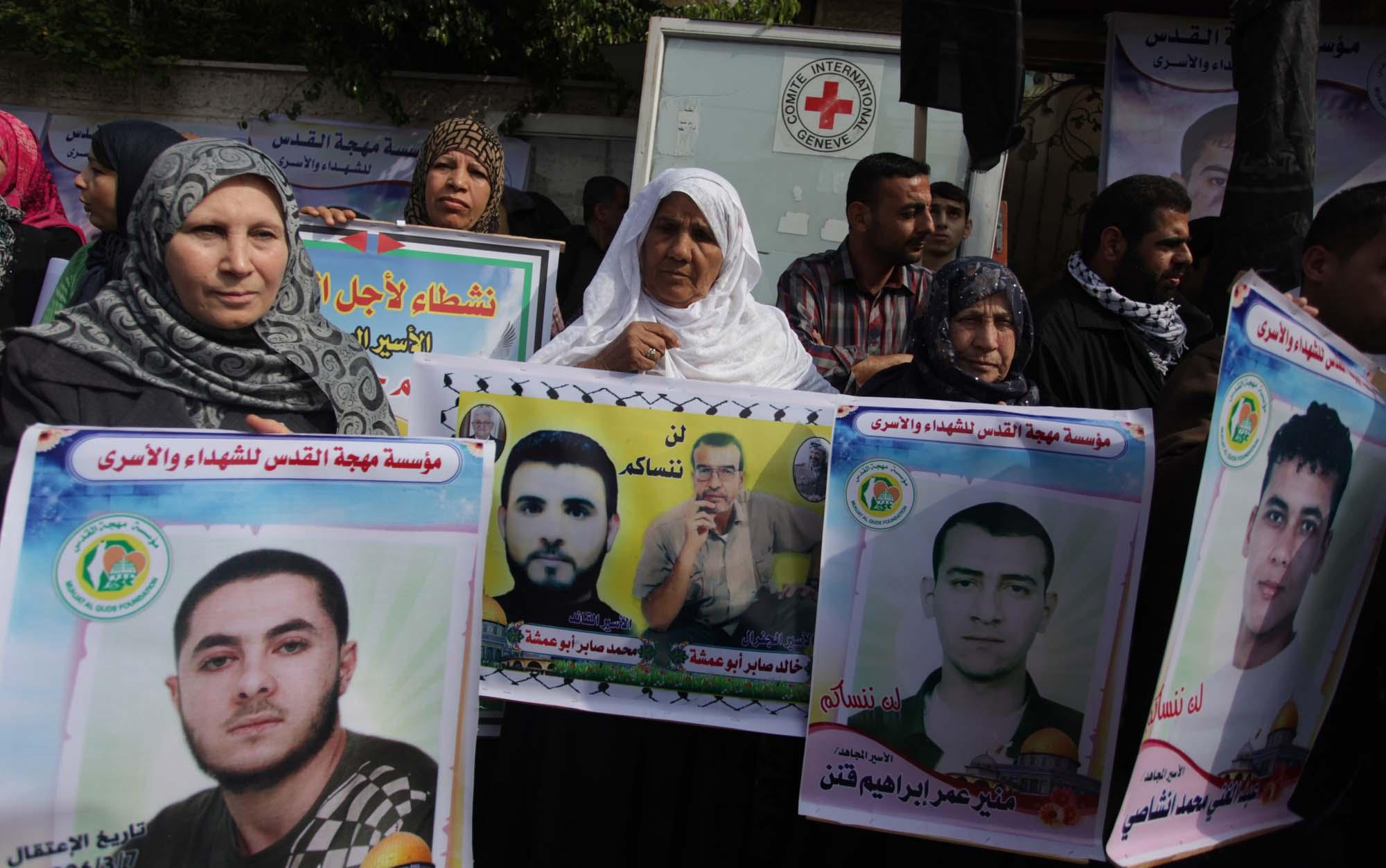 مهجة القدس تنظم سلسلة فعاليات نصرة للأسرى المضربين والمرضى
