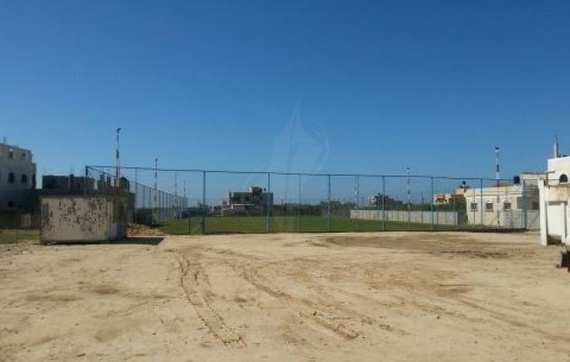 صور | إطلاق ملعب معشب في منطقة الزوايدة