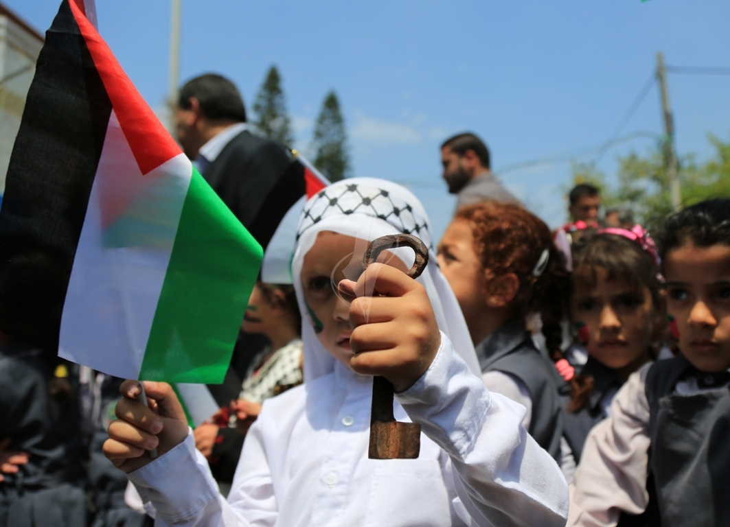 مسيرة للأطفال فى ذكرى النكبة (30111128) 
