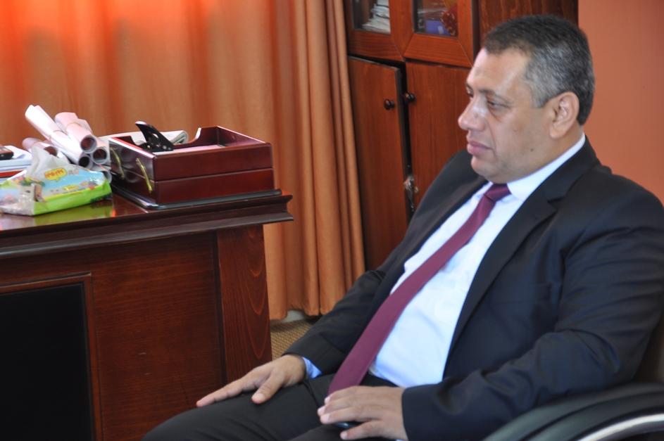 زيارة نائب اردني لمقر الوكالة