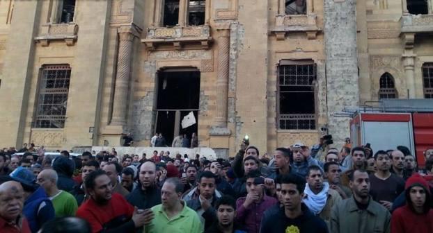 تفجير أمن مديرية القاهرة