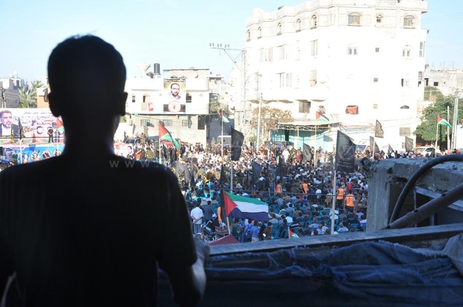 رفح: الجهاد الإسلامي تنظم مهرجانا جهاديا حاشداً بذكرى انطلاقتها واستشهاد مؤسسها