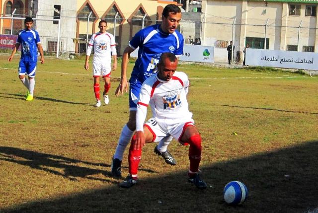 كأس غزة  خدمات دير البلح وخدمات البريج (3)