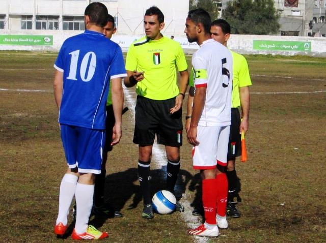 كأس غزة  خدمات دير البلح وخدمات البريج (1)
