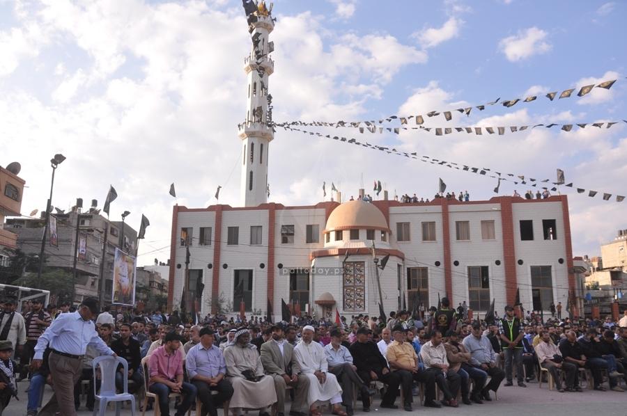 مهرجان الوفاء الشقاقى والشهداء في الذكرى 19 لرحيلها