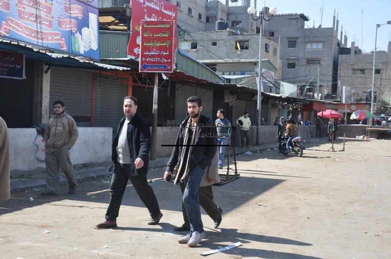 اضراب سوق الشيخ رضوان