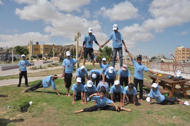 مخيمات جيل النصر