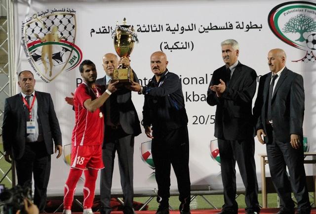 فلسطين تتوج ببطولة النكبة 2014